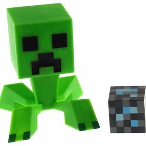 Minecraft Creeper 6″ Vinyl Figure 2″ Diamond Block